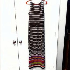 Nine West Womens Maxi Dress Sleeveless Size 8P